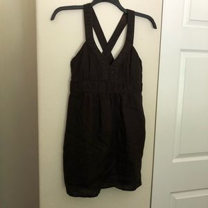 Banana Republic Brown Linen Blend Sundress
